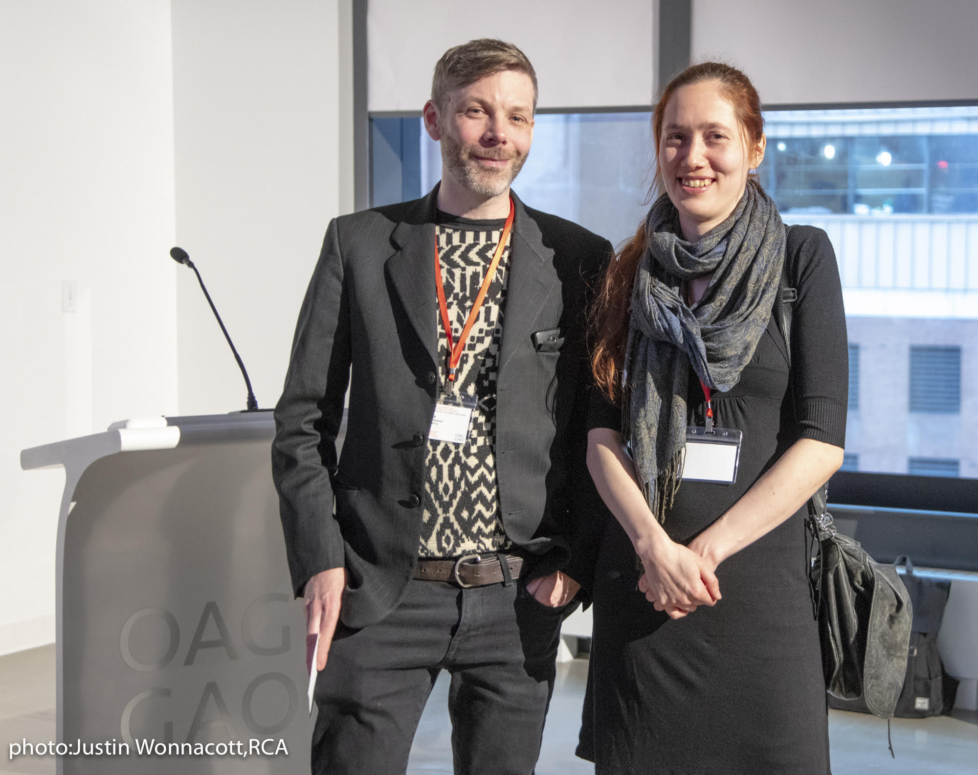 Adam Alexander Gunn and Karine Fréchette