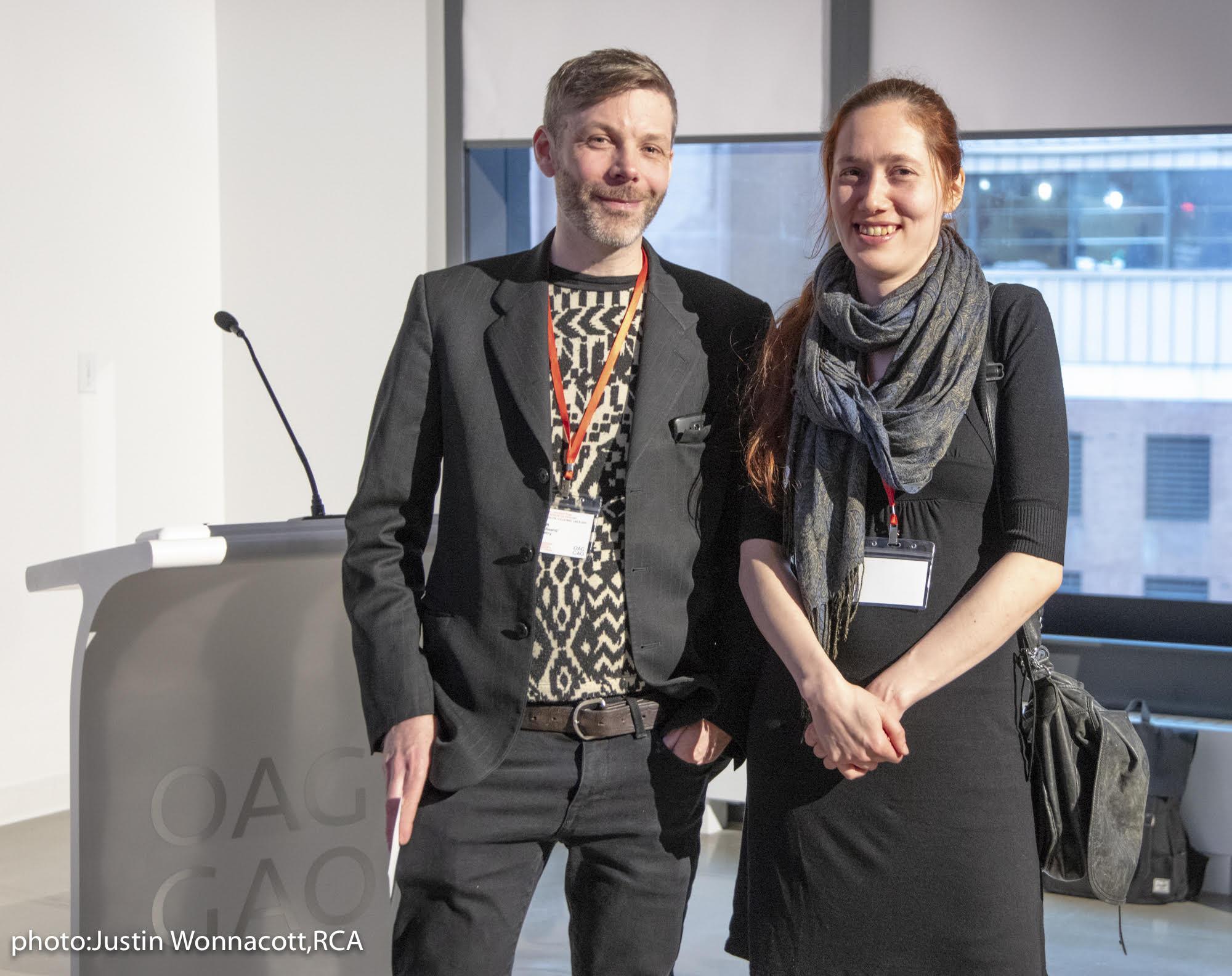 Adam Alexander Gunn et Karine Fréchette