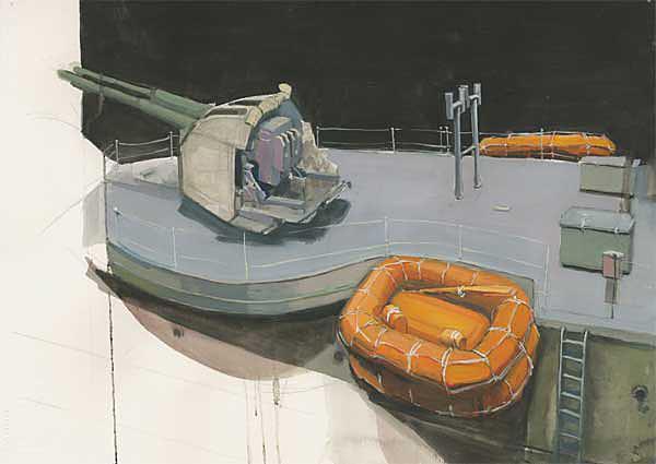 Todd Tremeer, Gun Deck