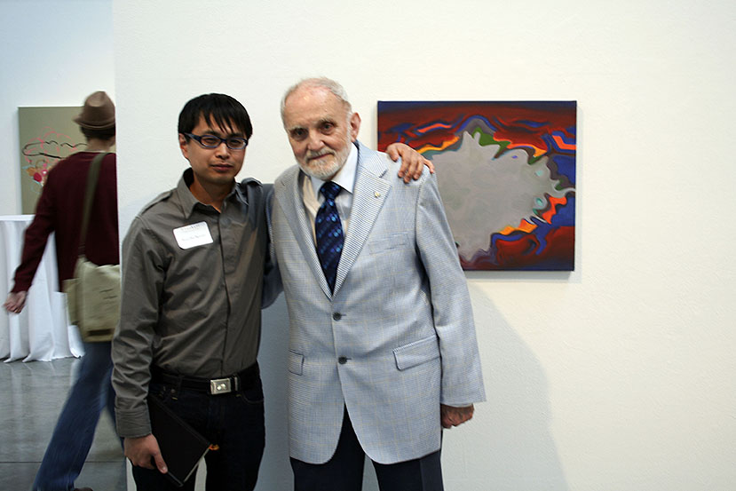 Nam Duc Nguyen with Joseph Plasket at Emily Carr University of Art and Design, 2008