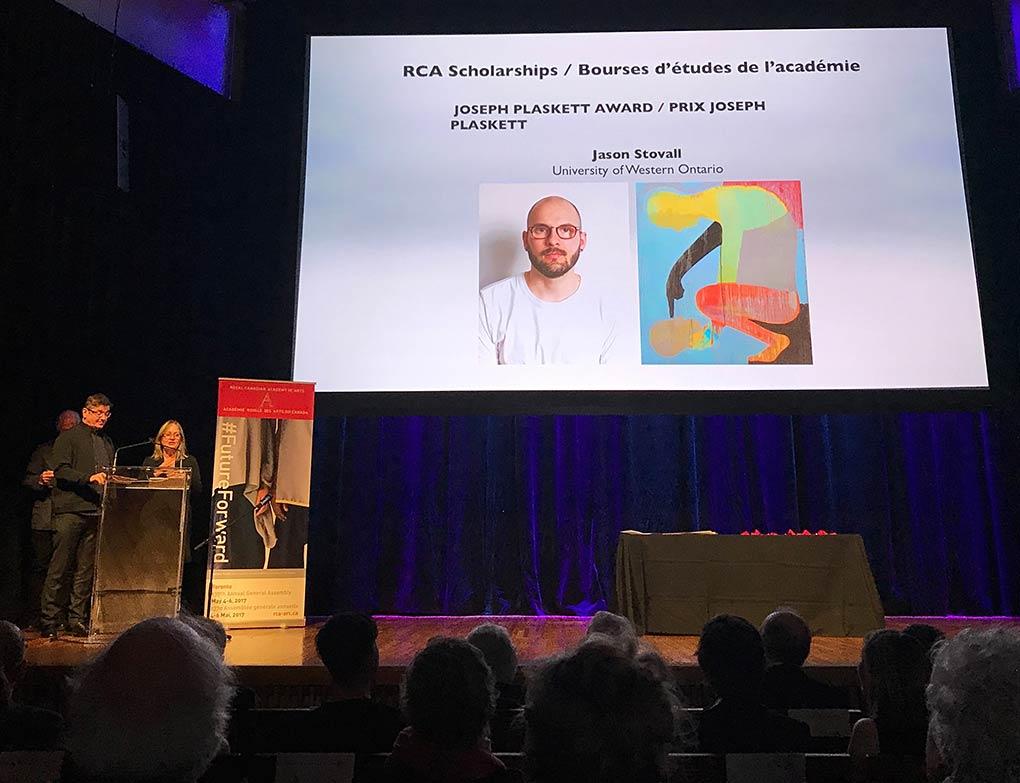 Alexander Irving et Landon Mackenzie annoncent le lauréat 2017 du Prix Plaskett