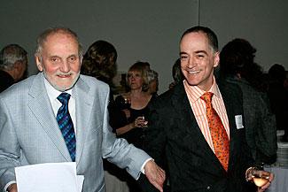 Joseph Plaskett avec Mario Doucet